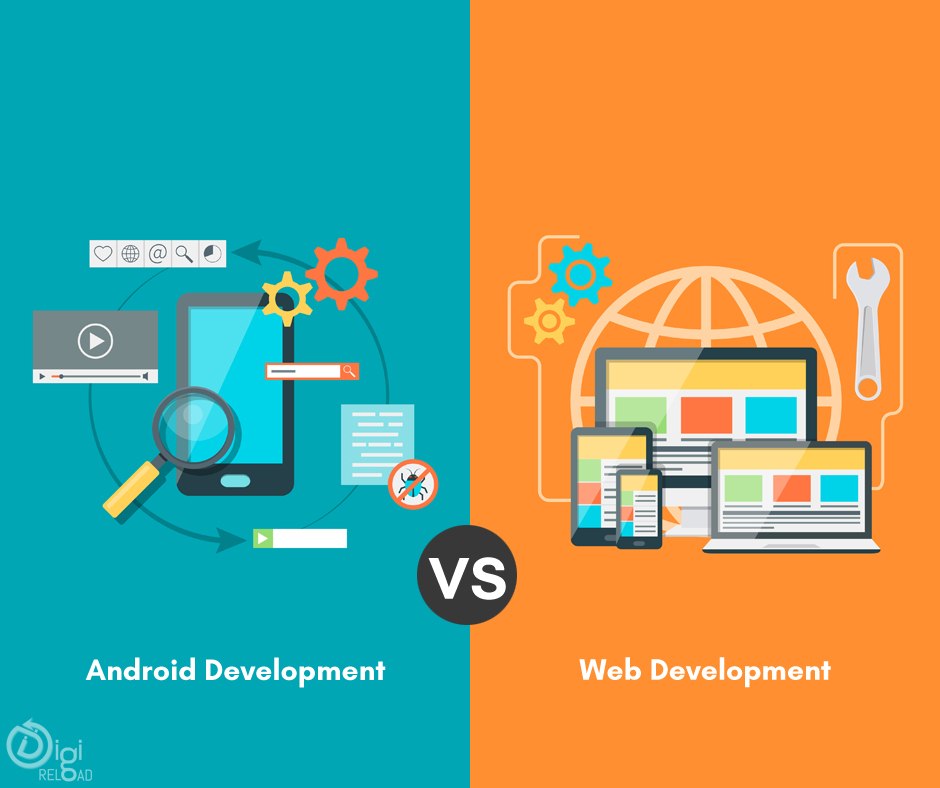 Web Development Vs App Development 2021 5 Major Difference