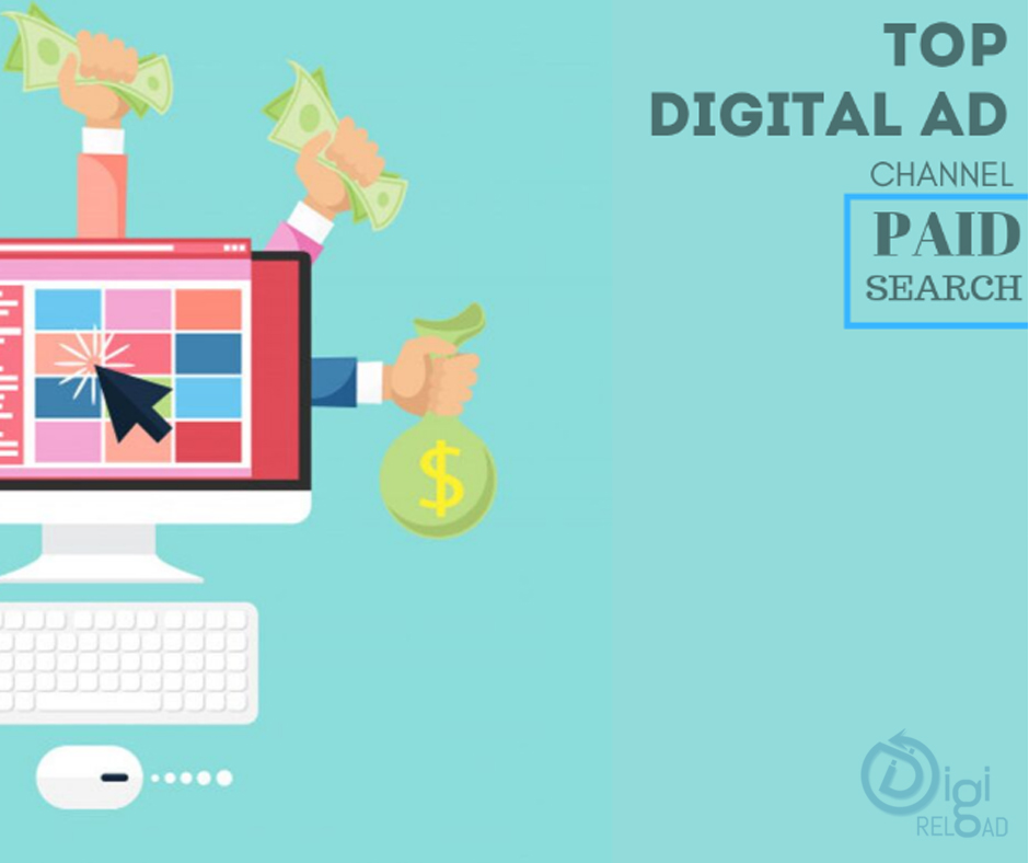 Paid Search is the dominating digital ad channel