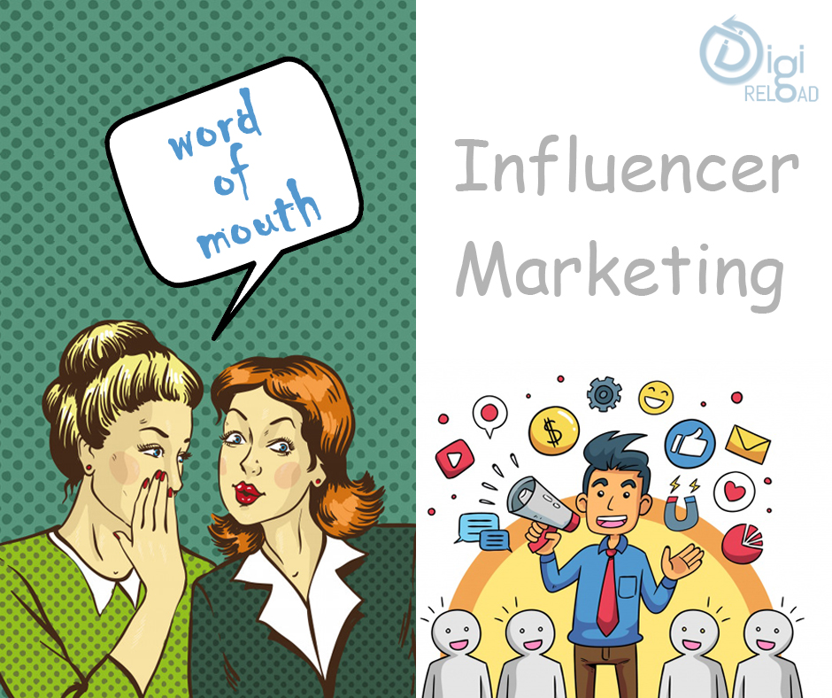 Difference between Word Of Mouth Marketing and Influencer Marketing