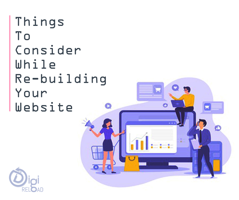 Things you should consider while refreshing your website