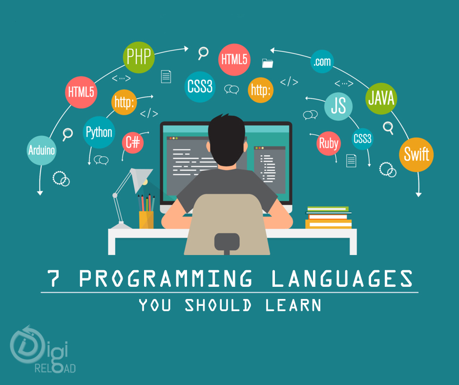 7 Web Development Languages You Must Learn