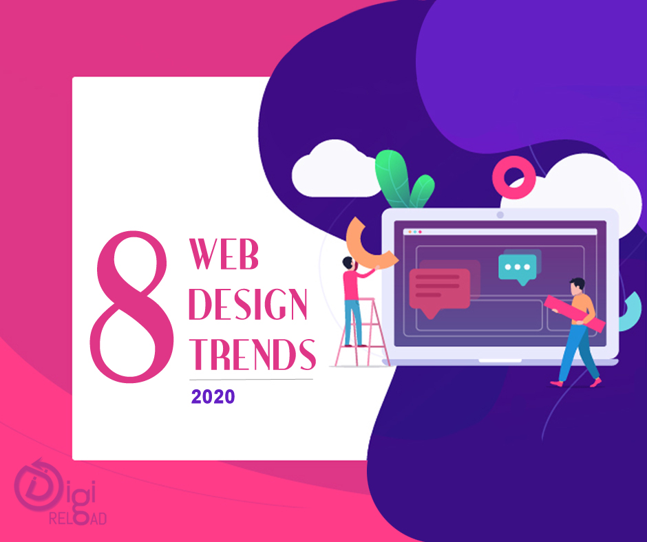 8 Web Design Trends for 2020