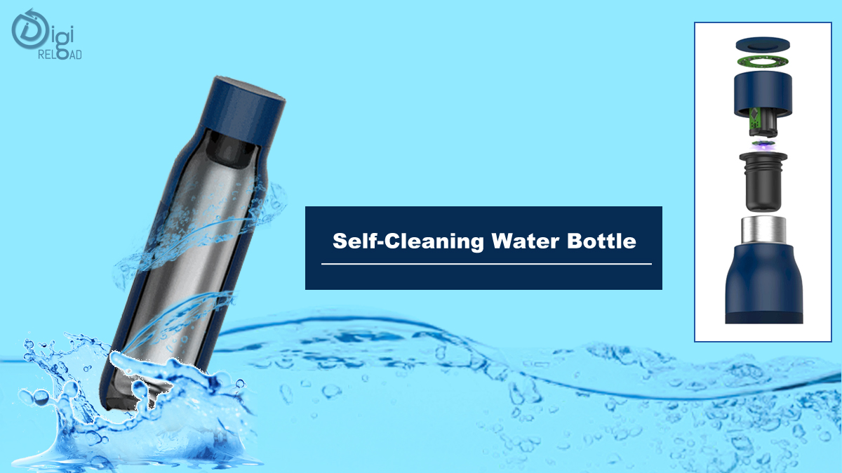 Self-Cleaning Water Bottle