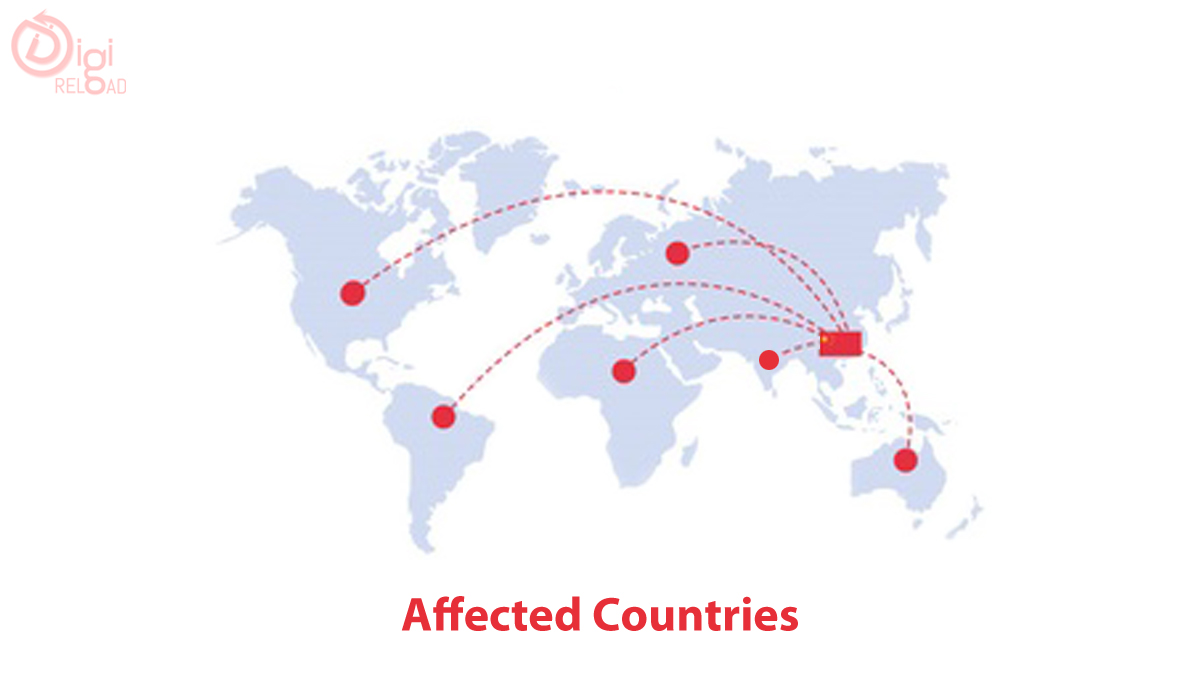 Number of Countries Affected