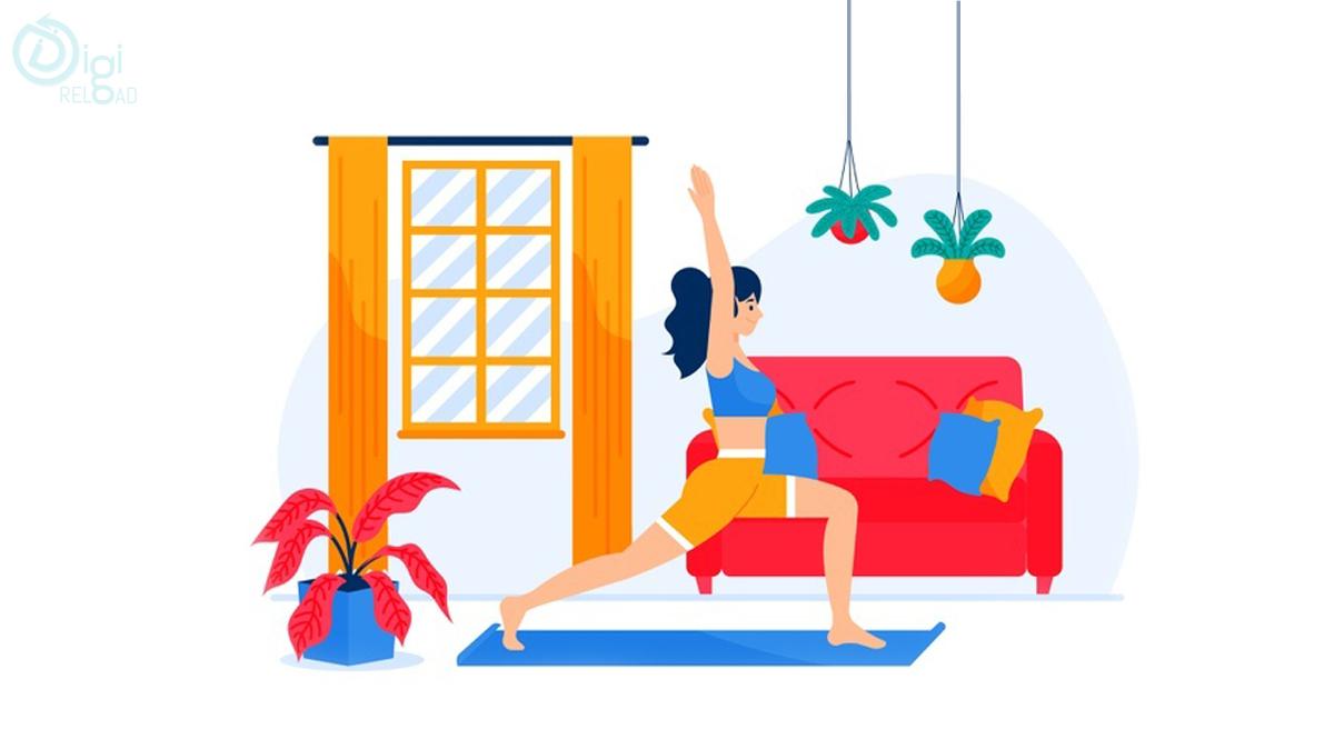 Half-Kneel Stretch Exercise