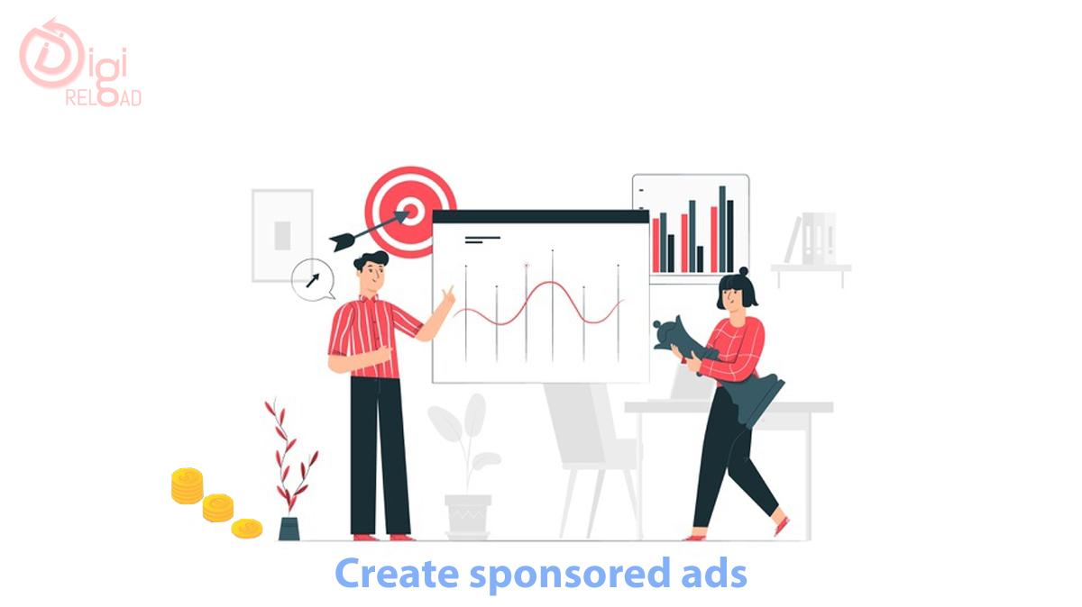 Create sponsored ads
