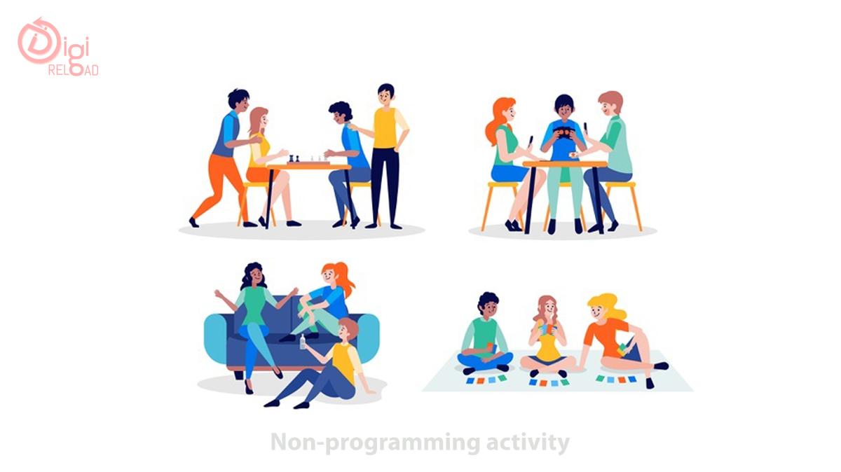 Non-programming activity