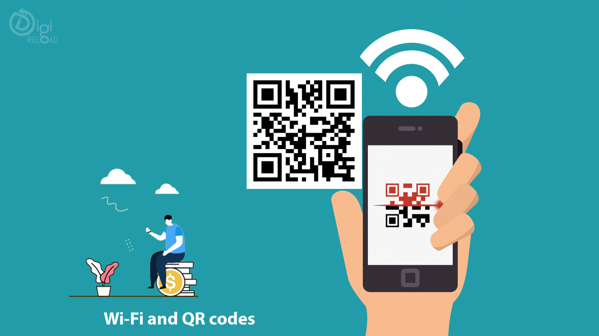 Wi-Fi and QR codes